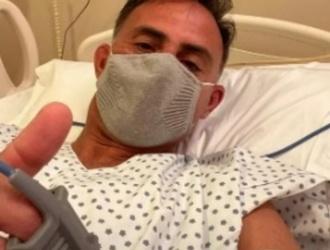 Diego Latorre se contagió de coronavirus y fue internado por una neumonía